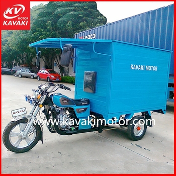 Used Truck Trailer Price 3 Wheel Cargo Tricycle Three Wheel