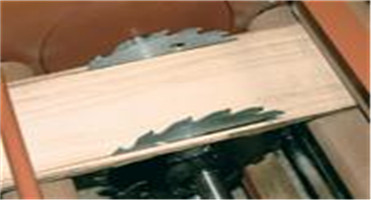 Dual Circular Blades Wood Cutting Used Commercial Sliding ...
