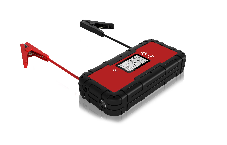 Acionador de partida portátil do salto 66.6Wh com os cabos de ligação em ponte inteligentes do impulsionador