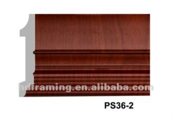 high quality skirting board ps picture frame moulding decorative photo moulding