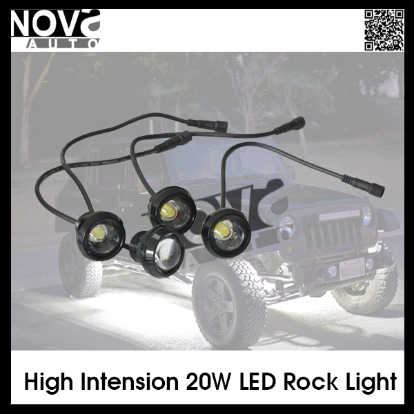 Rock Light 5w Car Motor White Red Blue Yellow Green LED Daytime Running DRL Light Tail Backup Day LED Eagle Eyes