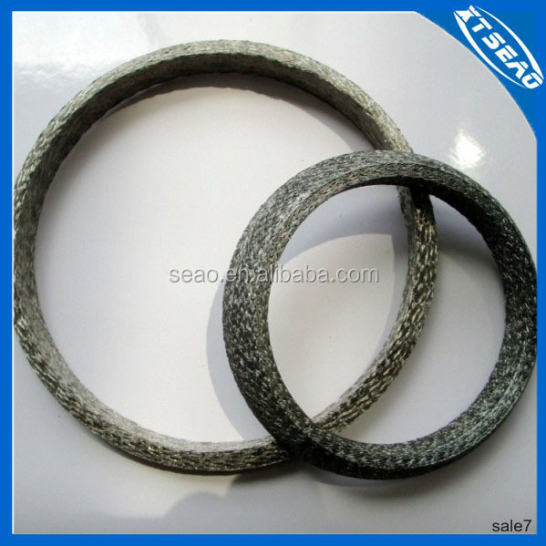 Muffler gasket in ceramic for auto parts