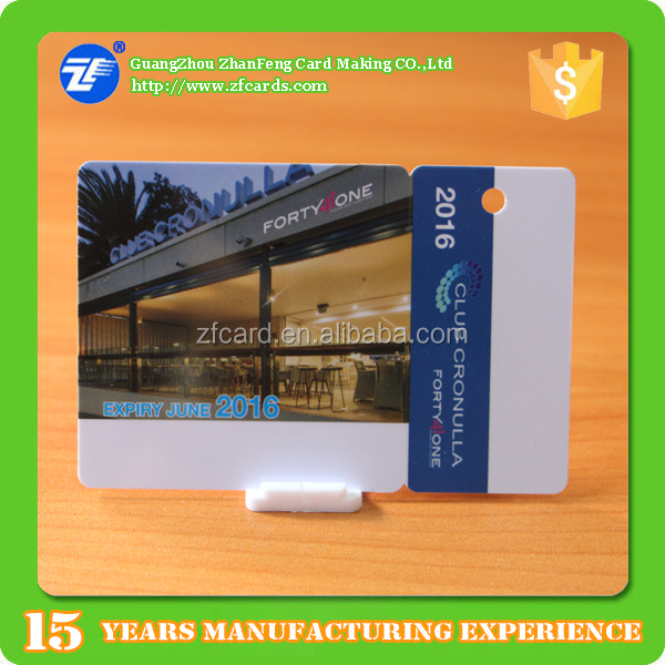 Special design PVC magnetic membership/gift/loyalty/points card
