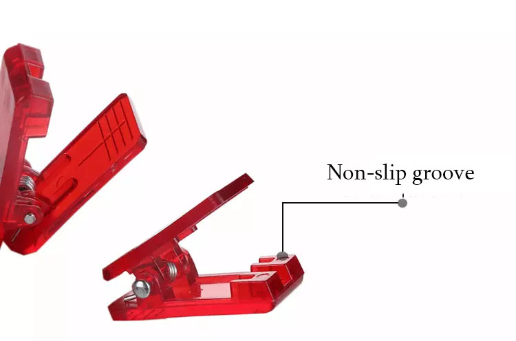 Hot selling positioning clips colorful plastic sewing clips for clothes accessories
