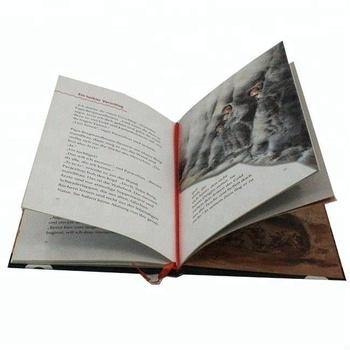 Personalizada A Todo Color Impresión De Libros De Tapa Dura ...