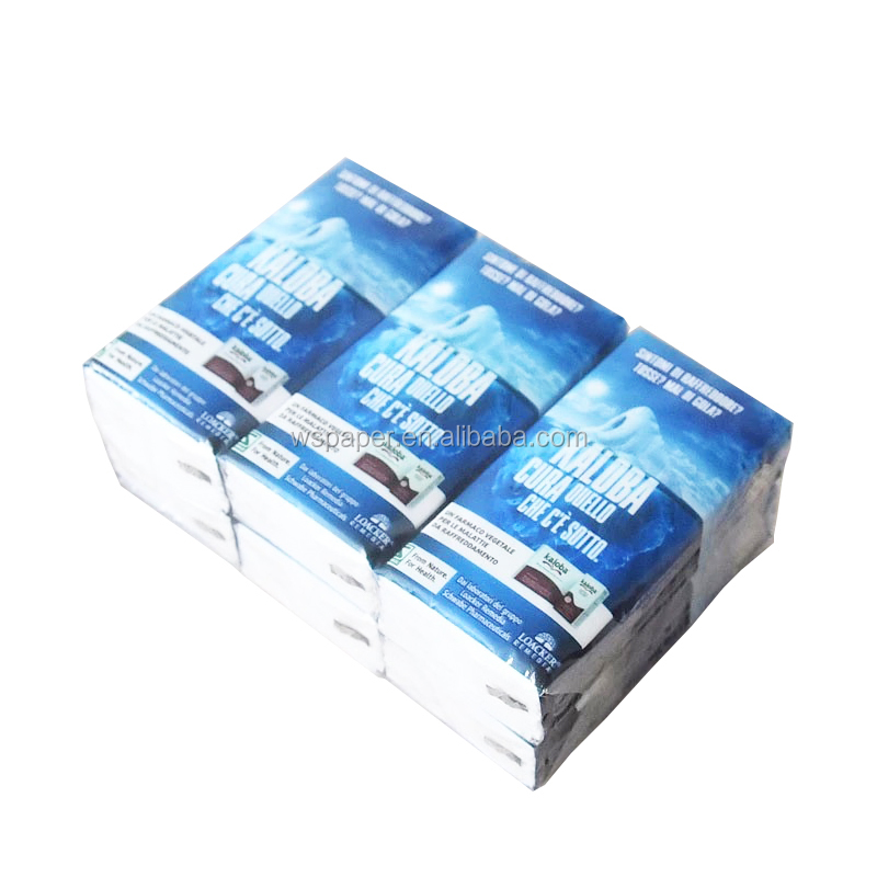 Promotion plain printed pocket facial tissue