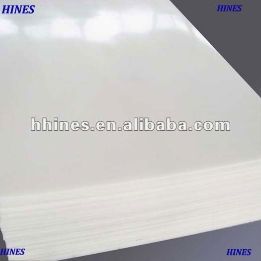 white hdpe and ldpe sheet for ice hockey