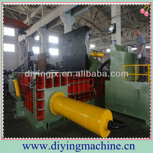 Waste aluminum cans baling machine / metal cans baler