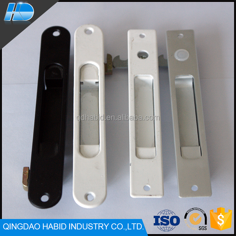 New Arrival Single Side Window Lock High Quality Custom Aluminum Sliding Door Hook Lock For Window