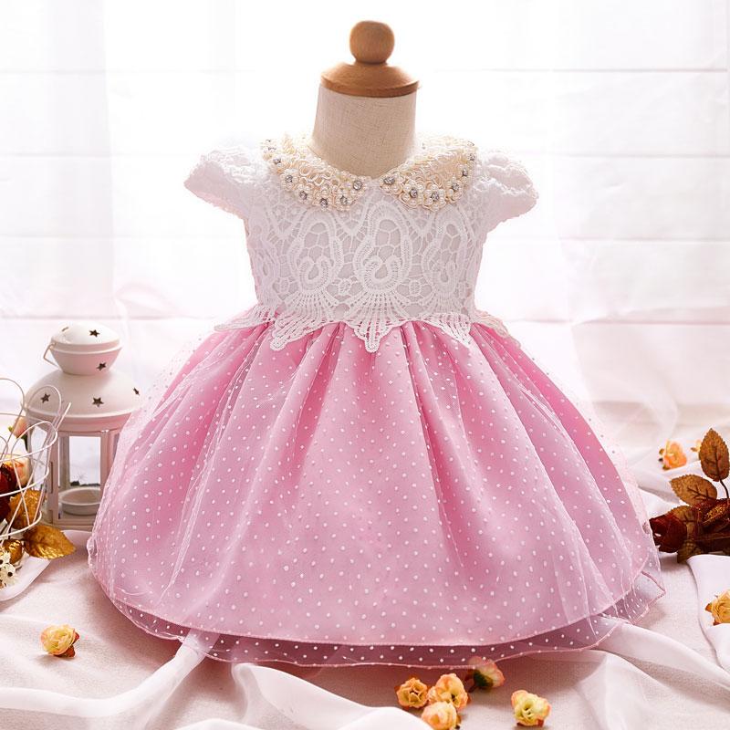2017 Neugeborenes Mädchen Taufkleid Prinzessin Lace Geburtstag Outfits Infant Festival Kleid Taufe Tutu Kleider Buy Mädchen Kleidmädchen Party