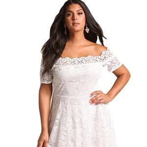 36f03a893306c Fat Women Peplum Dresses