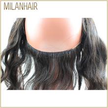 2016 pas cher vierge brsilienne corps vague cheveux 360 dentelle frontale - Coloration Apres Lissage Brsilien