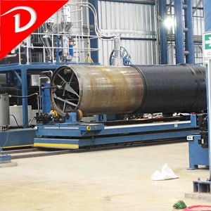 HDPE plastic pipe used complete production line for sale