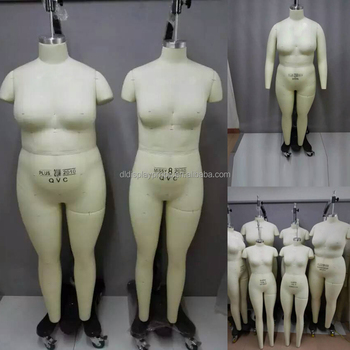 fitting mannequin fat plus size dummy female full body fabric
