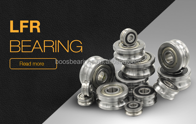 LFR50/8-8 KDD V type guide bearing/wheel 8*24*11mm