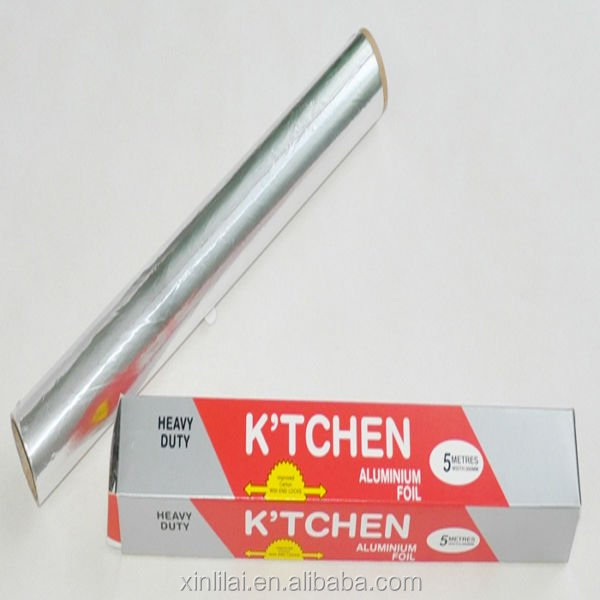 Zhengzhou Xinlilai kitchen aluminum foil with dispenser box