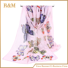 Newest factory sale low price indian silk scarf China wholesale