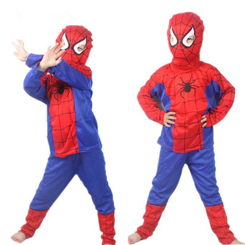 Spiderman Cosplay Costumes Suit Unisex Performance Party Festival Cosplay Costumes Halloween Gift Children Party Anime Cosplay