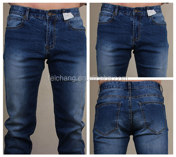 Denim Jeans Men 2016 Made In China
