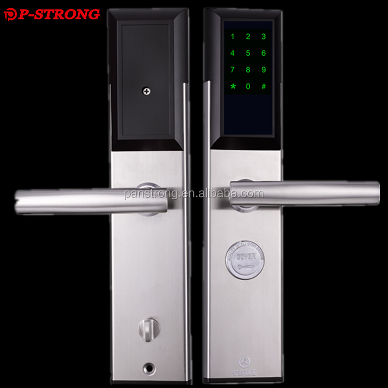 Smart Electric RFID Card Sensor Hotel Door Lock Bluetooth