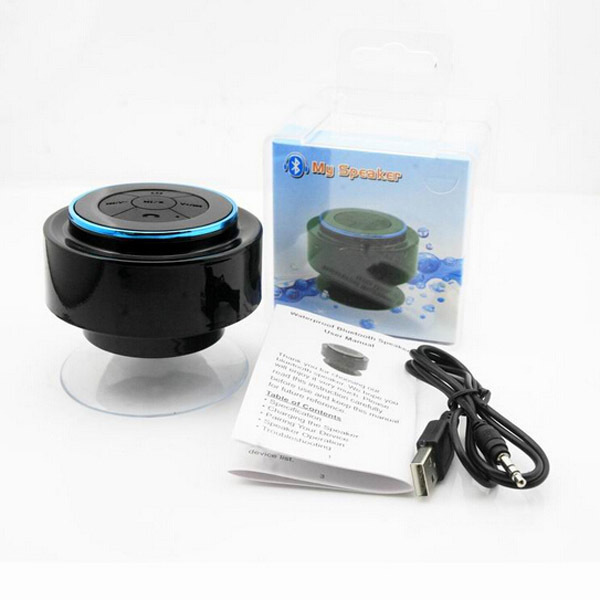 Hot new products for 2016 consumer electronics IPX7 waterproof bluetooth speaker/Bluetooth speaker for bathroom