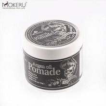Gratis sample Custom Haar wax styling pommade matt klei rand controle private label haar wax mannen voor barbershop