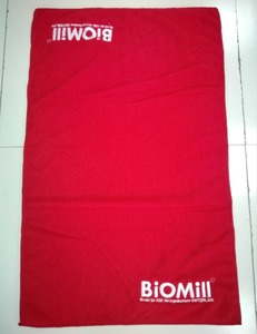 Promotional gift water absorb custom embroidery blank microfiber golf gym sport towel with logo