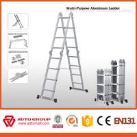 ADTO multi purpose ladder/easy folding aluminium/compact aluminum ladder