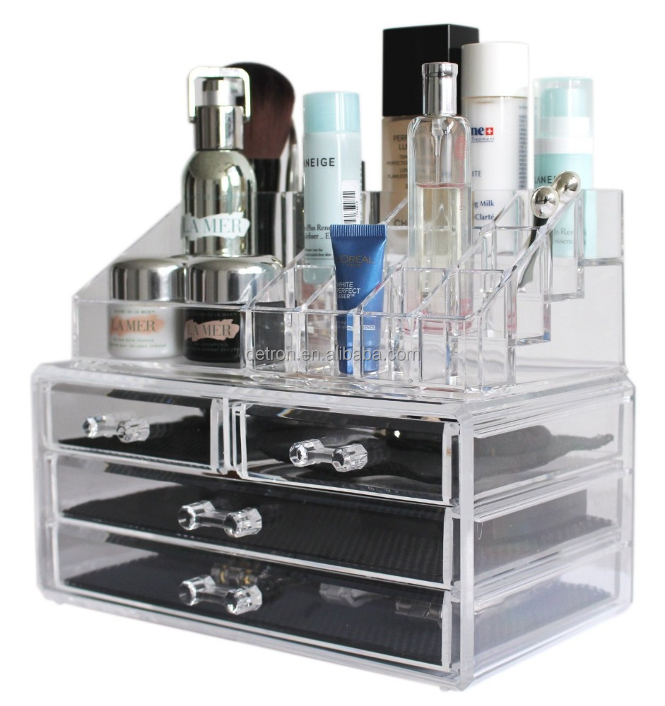 Hot Sale Clear Acrylic Makeup Brushes Display Stand Makeup Organizer