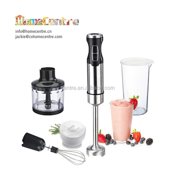 Electric Stainless Steel Stick Blender with 2 speeds switch/LED displau for option/800W/1000W