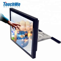 15 Inch Stock Touch Screen Desktop Tablet PC with Intel Core I3 Precessor 4G RAM 128G Hard Disk Win7