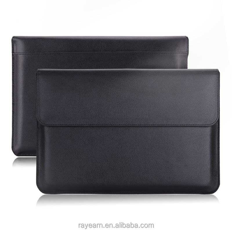 100% OEM manufacture Luxury PU Laptop sleeve for 11inch,13inch 15inch laptop sleeve , laptop case laptop bag for Mac
