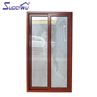 China made sound proof wooden aluminium sliding door pictures
