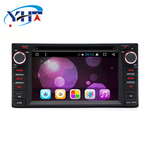 YHT 2 din 6.2 pollici Car Radio Android 8.1 Multimediale con Bluetooth Touch Screen Car GPS Radio con Specchio Link <span class=keywords><strong>DVD</strong></span> per la TOYOTA