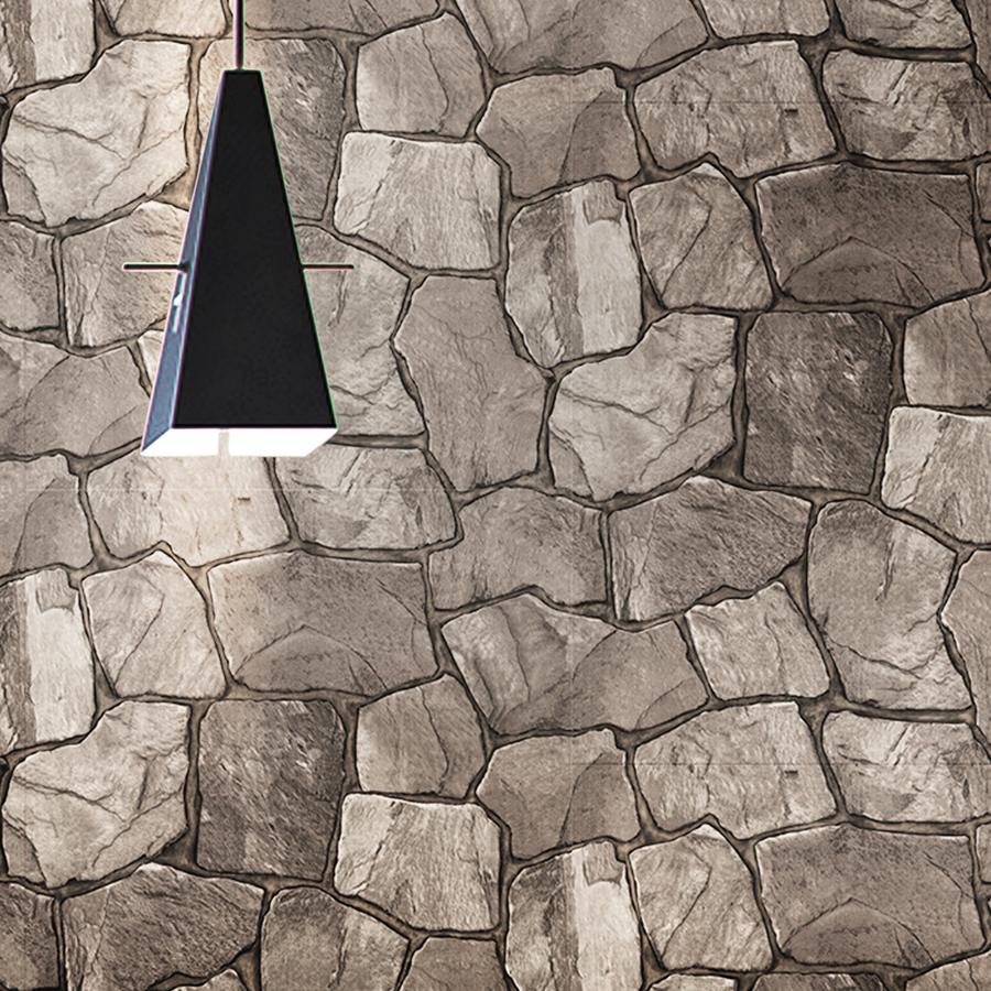 53cm natuur zin vinyl behang 2015 3d ontwerp natuursteen steen ...