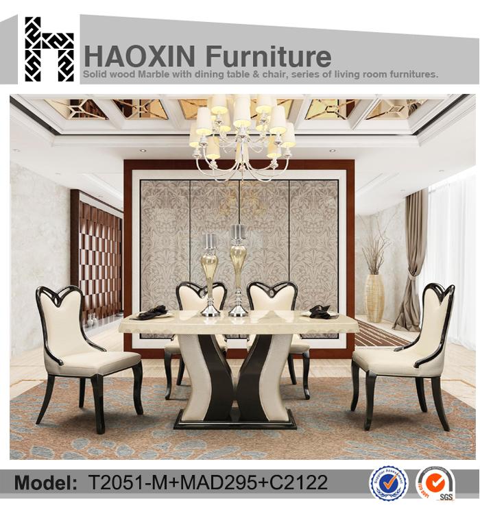 Charmant Cadre De Table Avec PU Colonial Style Salle à Manger Meubles Et Tables De  Banquet En