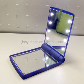 magnifying glass with light stand led foldable magnifier lighted vanity mirror