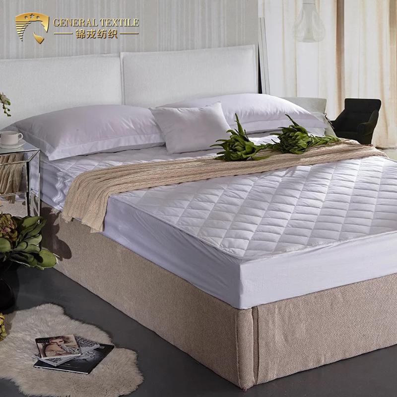 100% Cotton king Size white Fitted Sheet Waterproof Mattress Protector