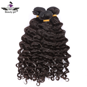 natural black 30 inch remy virgin deep wave human hair weft sewing machine flat iron miss rola paris hair extensions