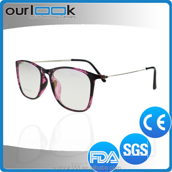 511acbbf24f Double Colors New Model Stainless Steel Temple Tr90 Specs Frames ...