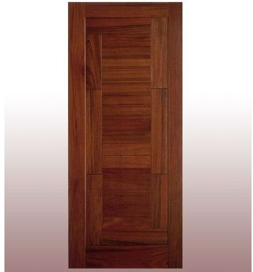 Modern Solid Wood Exterior Door