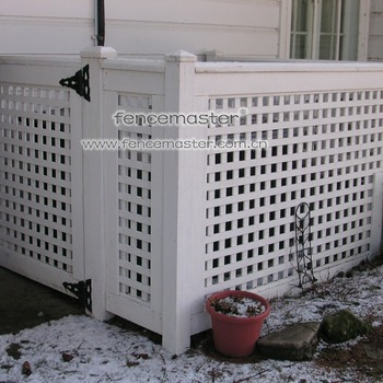 8f5ad9b83085 Fencemaster Pvc Lattice Air Conditioner Fence - Buy Pvc Lattice ...