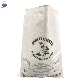 100% Virgin PP Packaging Rice PP Woven Bag Design