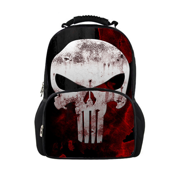 2d4ec9bf93af Buy Trendy Black Students Skull Backpack Children School Bags for Boys  Girls Cool Bone Mens Rucksack Laptop Backpacks Mochila Kids in Cheap Price  on ...