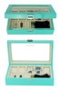 Top Fashion High Glossy Wooden Watch Jewelry Box with Lock