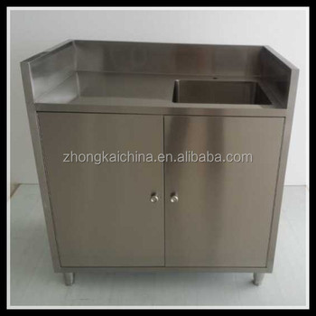 Commercial stainless steel ready made cheap kitchen sink for Cheap metal kitchen cabinets