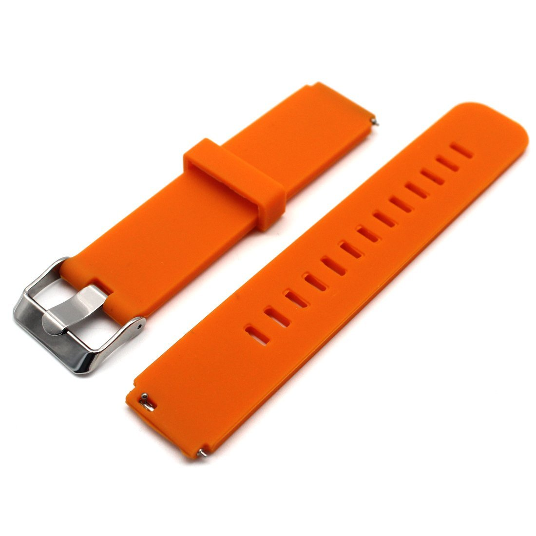 Huawei Fit Smart Fitness Watch Silicone Band - MOTONG Replacement Band For Huawei Fit Smart Fitness Watch,Come With Quick Release (Silicone Orange)