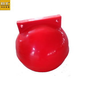 300mm size PE with EPS material river and Marine floating buoy ball