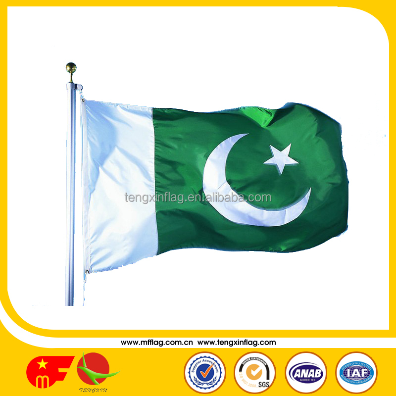 durable large size pakistan flag