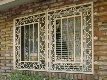 Wrought Iron Window Grills Grill Design 6